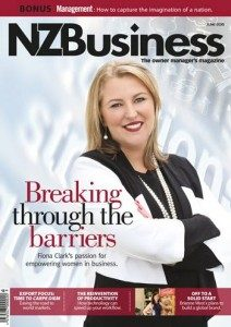 Fiona Clark NZ Business Magazine Cover
