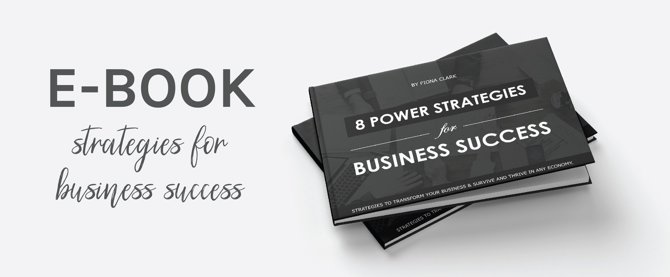 Ebook - 8 power strategies for business success